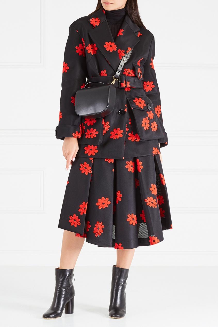 цена Simone Rocha Куртка с вышивкой онлайн в 2017 году