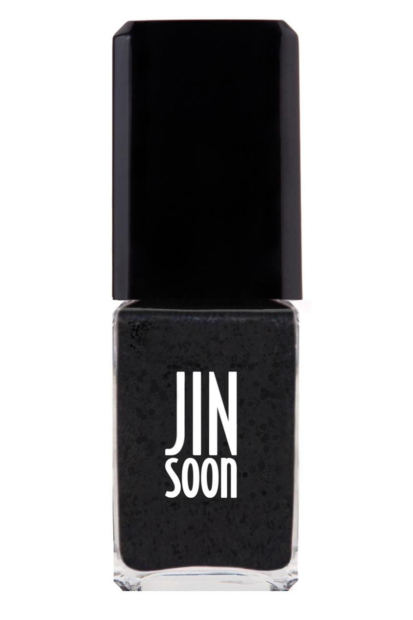JinSoon Лак для ногтей T104 Polka Black, 11 ml винилюкс лак для ногтей в новосибирске