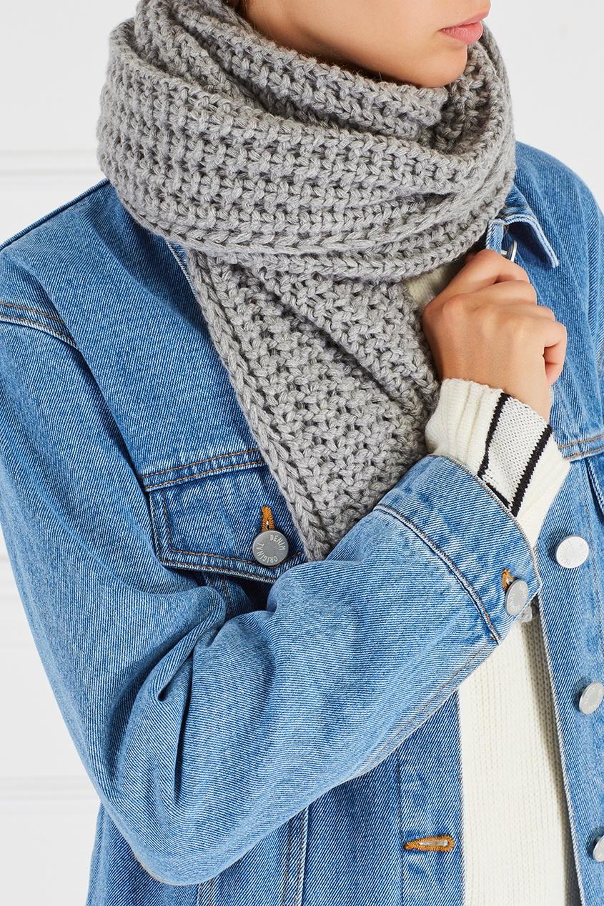 Фактурный шарф