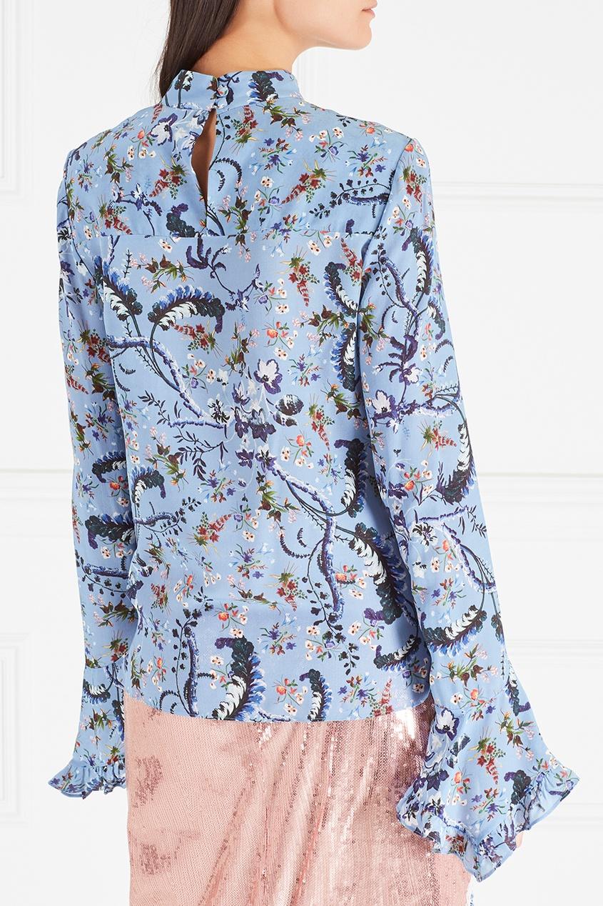 Шелковая блузка Lindsey
