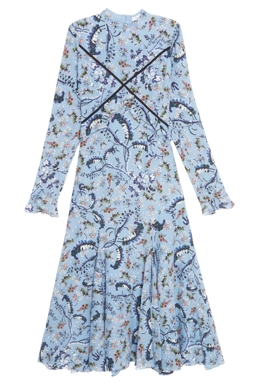 Шелковое платье Cordelia.