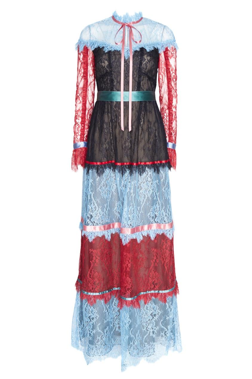 Кружевное платье Jacqueline.