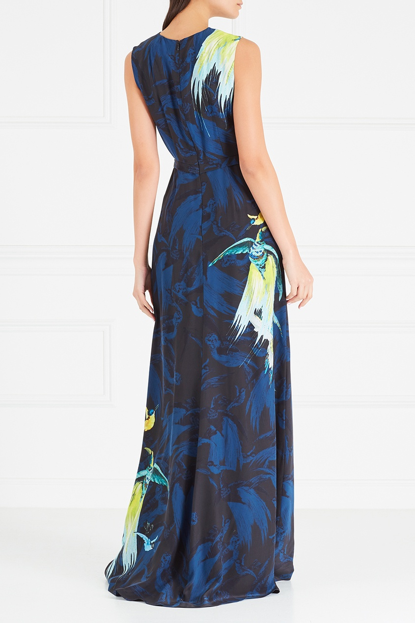 Шелковое платье Morwenna
