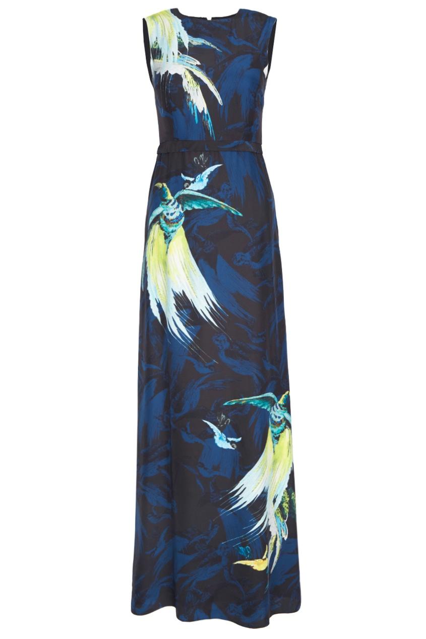 Шелковое платье Morwenna.