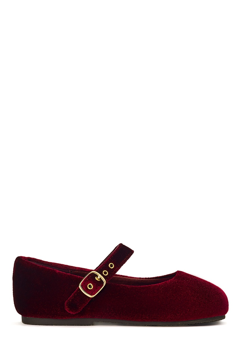 Бархатные туфли Eva