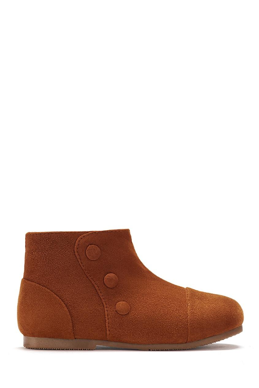 Замшевые ботинки Isa
