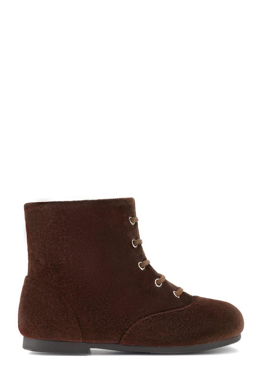 Бархатные ботинки Camilla
