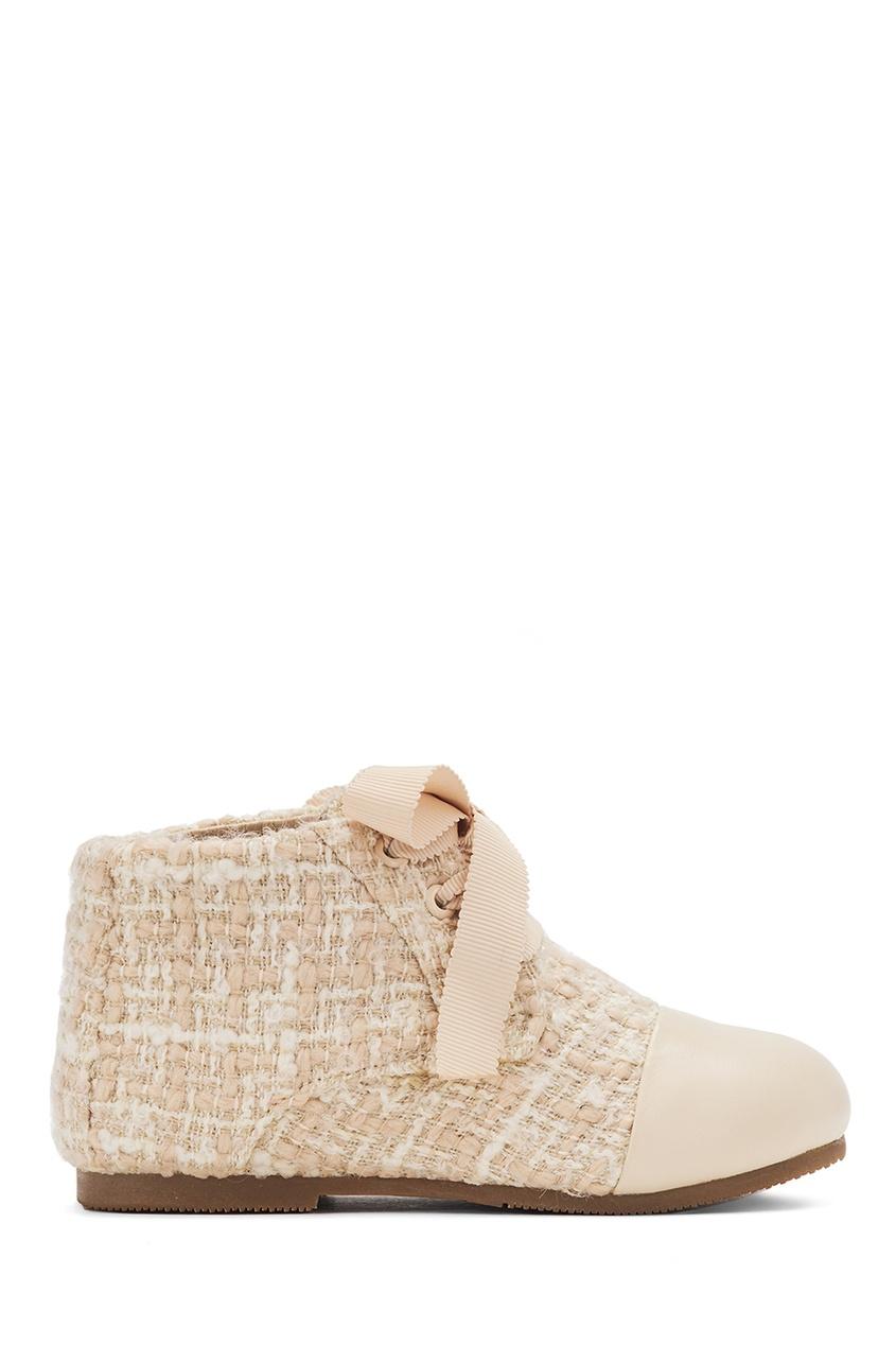 Ботинки из твида и кожи Jane 3.0