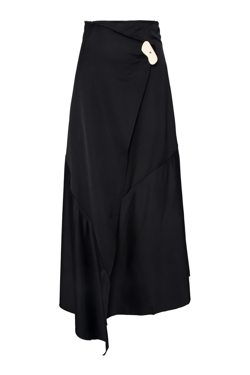 Однотонная юбка