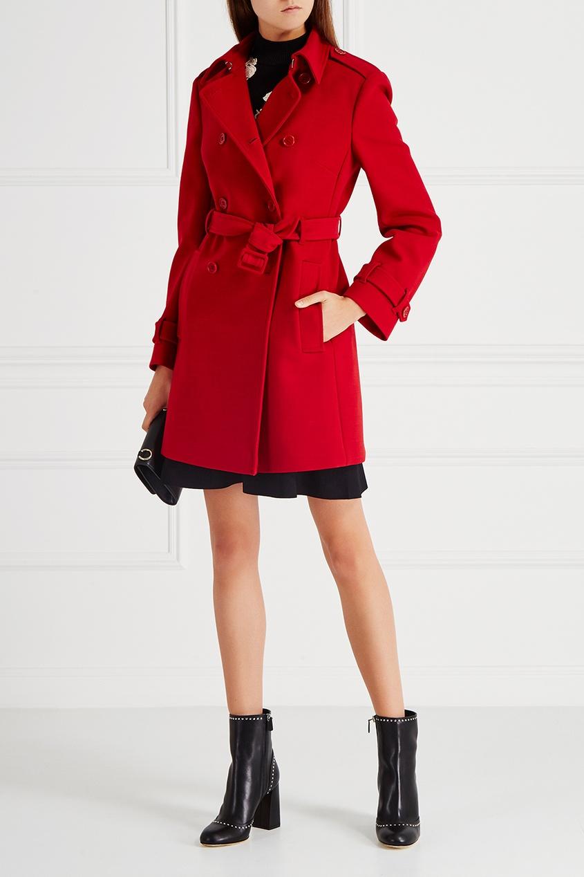 Купить со скидкой Однотонное пальто