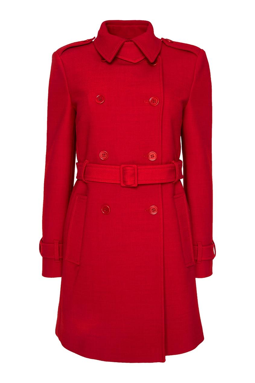 Red Valentino Однотонное пальто одеяло однотонное из 100% хлопка kumla