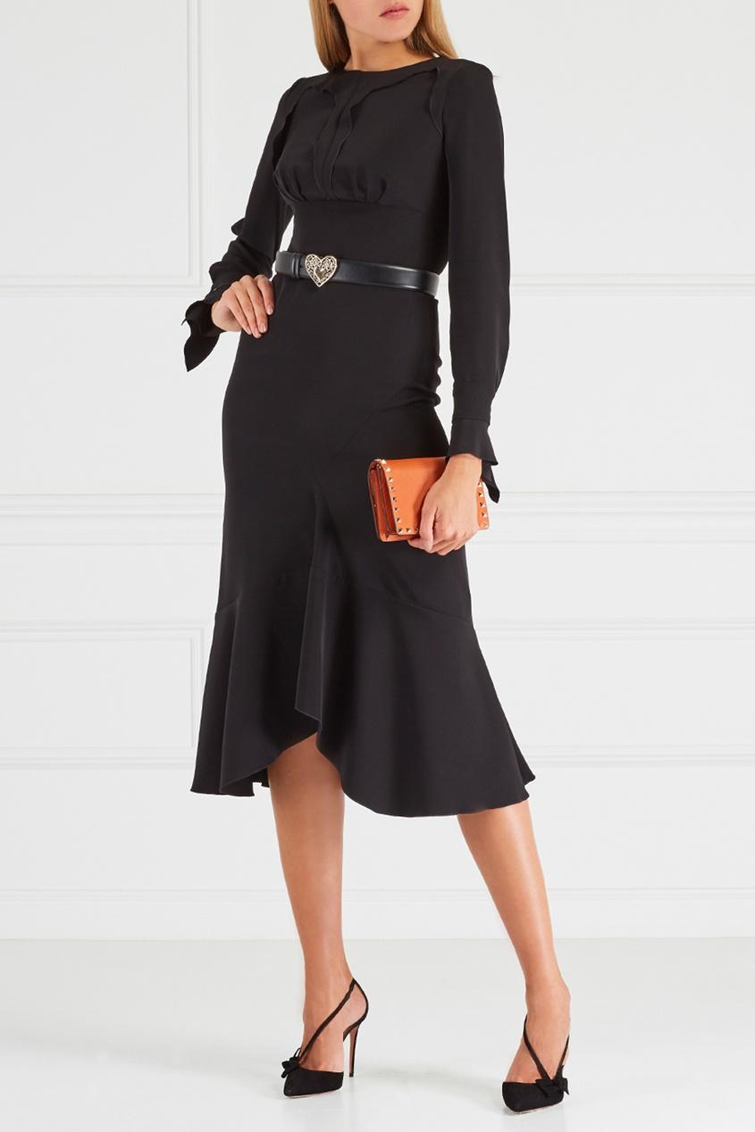 Chapurin Платье с оборками шорты chapurin шорты