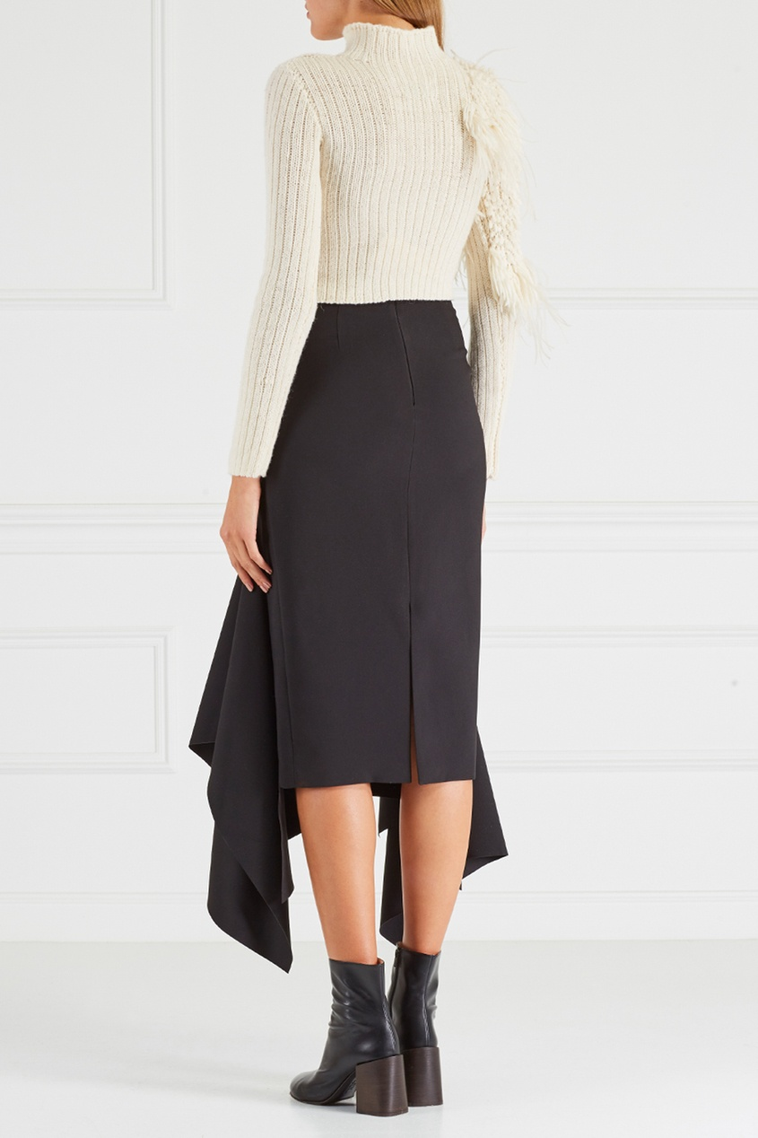 Chapurin Шерстяной свитер chapurin однотонная блузка