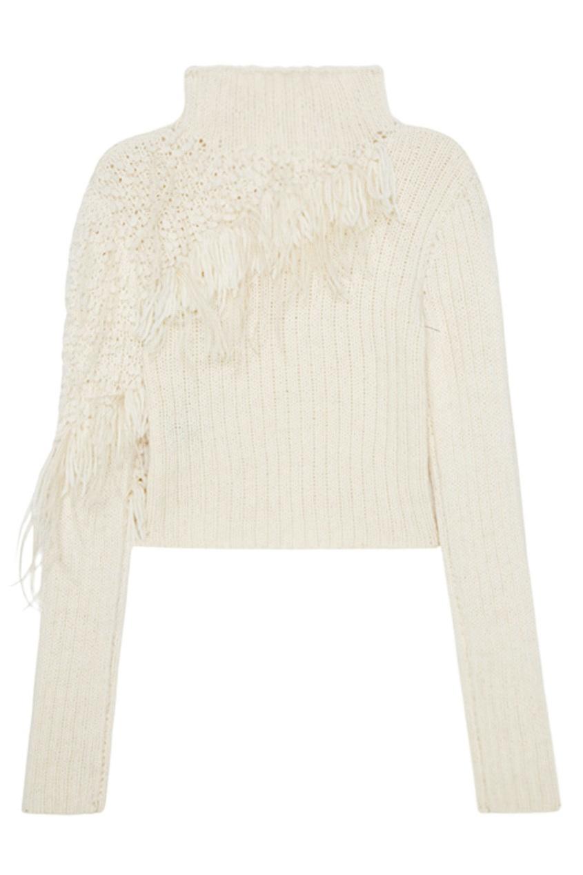 Chapurin Шерстяной свитер cacharel свитер с длинными рукавами