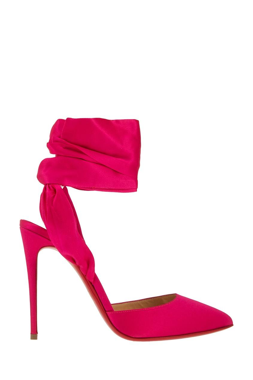 Шелковые туфли Douse Du Desert 100