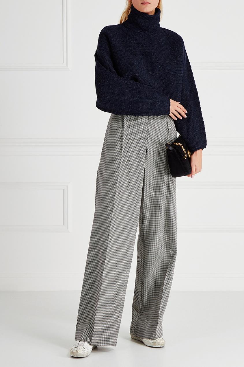 victoria beckham укороченные джинсы Victoria Beckham Шерстяной свитер