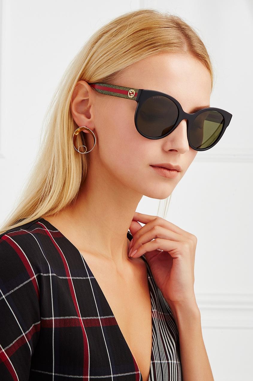 Солнцезащитные очки с монограммой