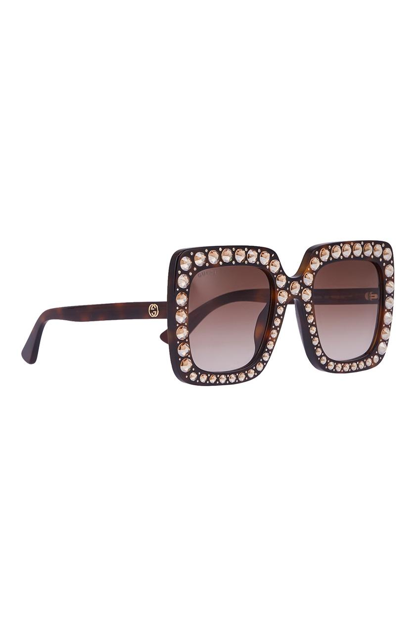Солнцезащитные очки с кристаллами