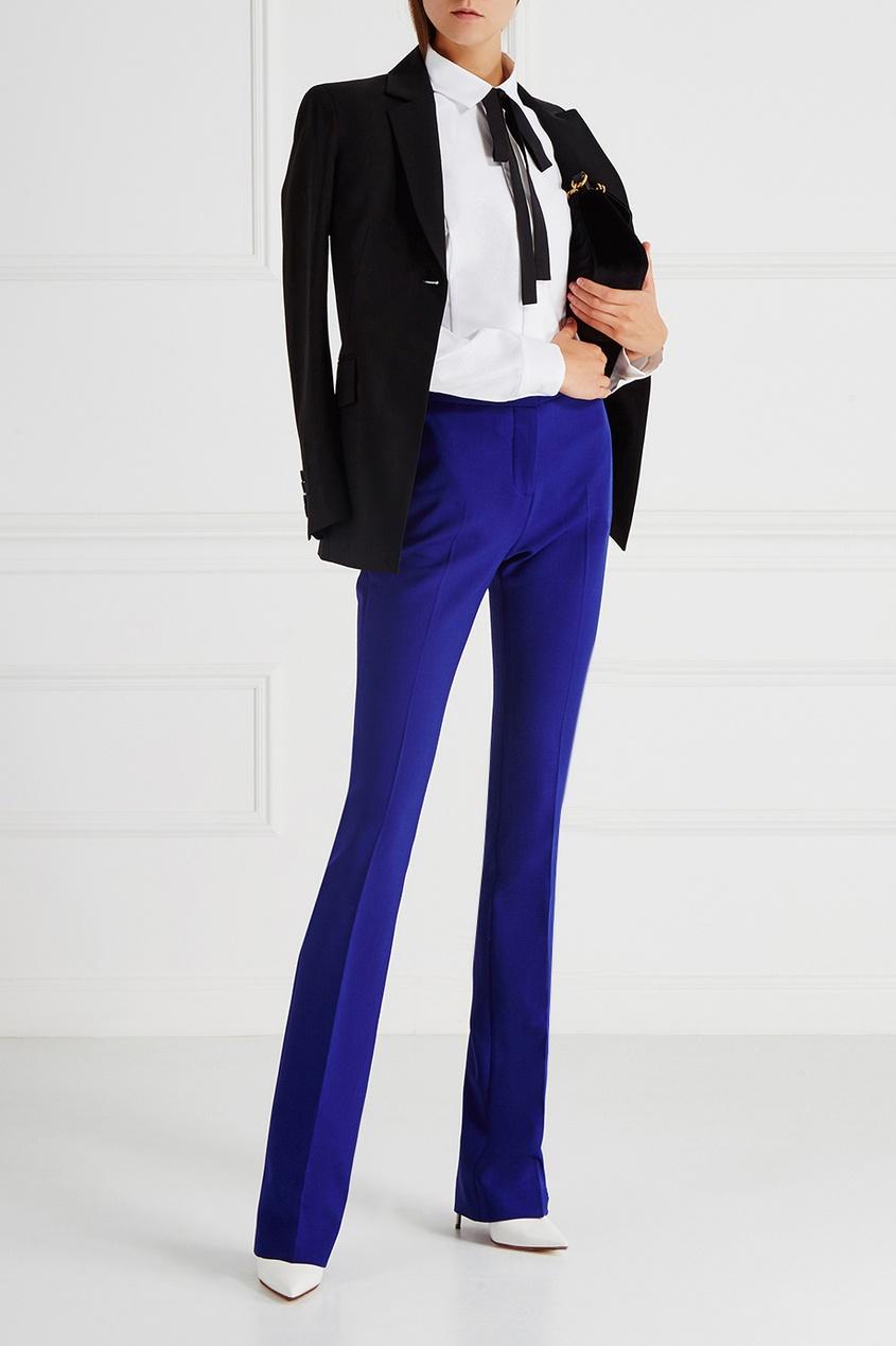 victoria beckham укороченные джинсы Victoria Victoria Beckham Однотонные брюки