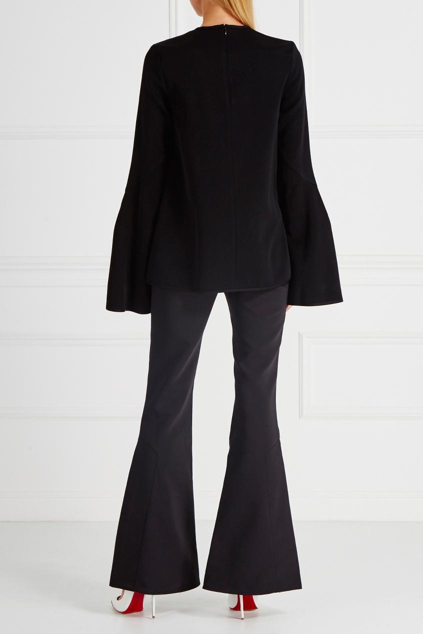 Однотонные брюки-клеш Activist