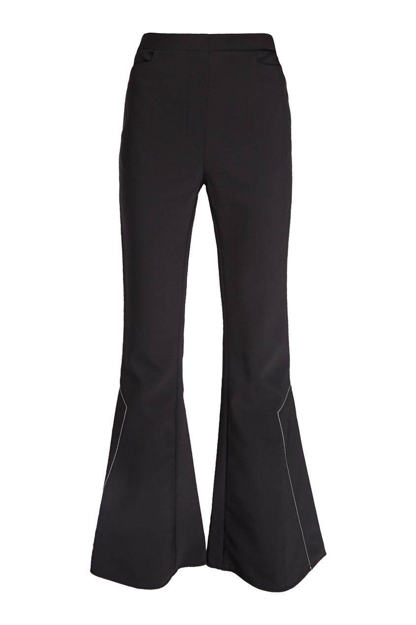 Ellery Однотонные брюки-клеш Activist