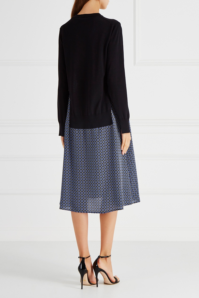 Stella McCartney Платье из шерсти и шелка