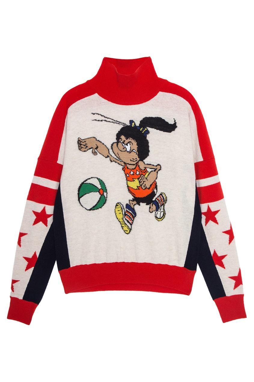 Stella McCartney Шерстяной свитер stella mccartney шерстяной свитер