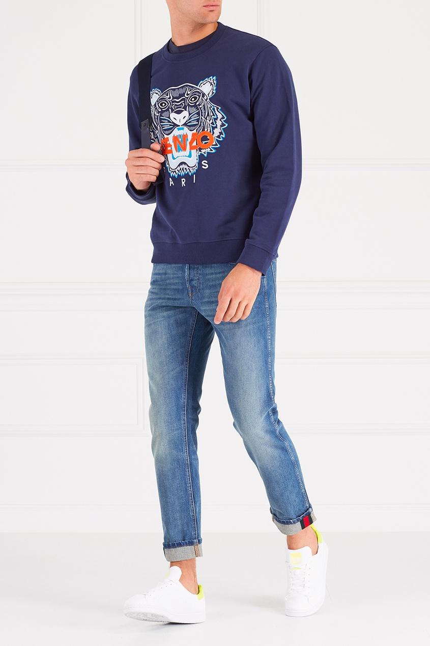 KENZO Джемпер с принтом джемпер с логотипом