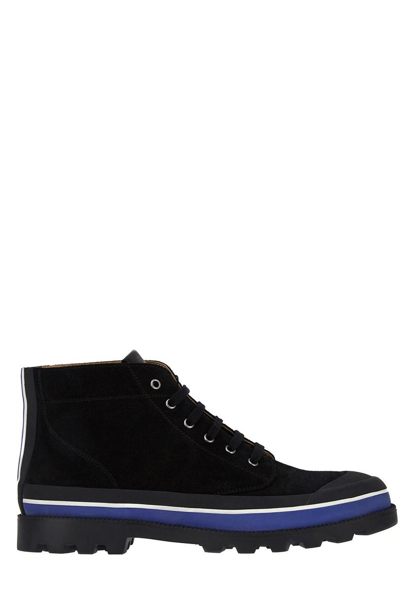 Valentino Замшевые ботинки