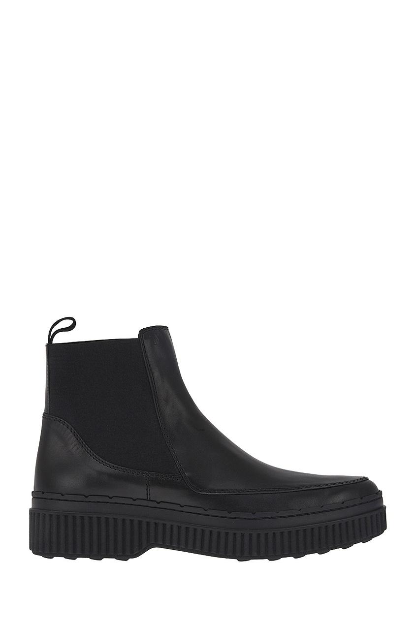 Tod's Ботинки с эластичными вставками tod s полусапоги и высокие ботинки