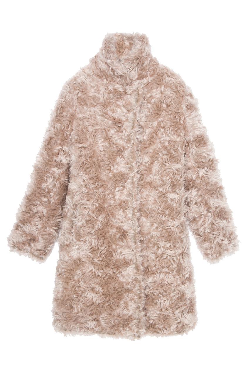 Stella McCartney Пальто из мохера и хлопка stella mccartney юбка из хлопка и льна
