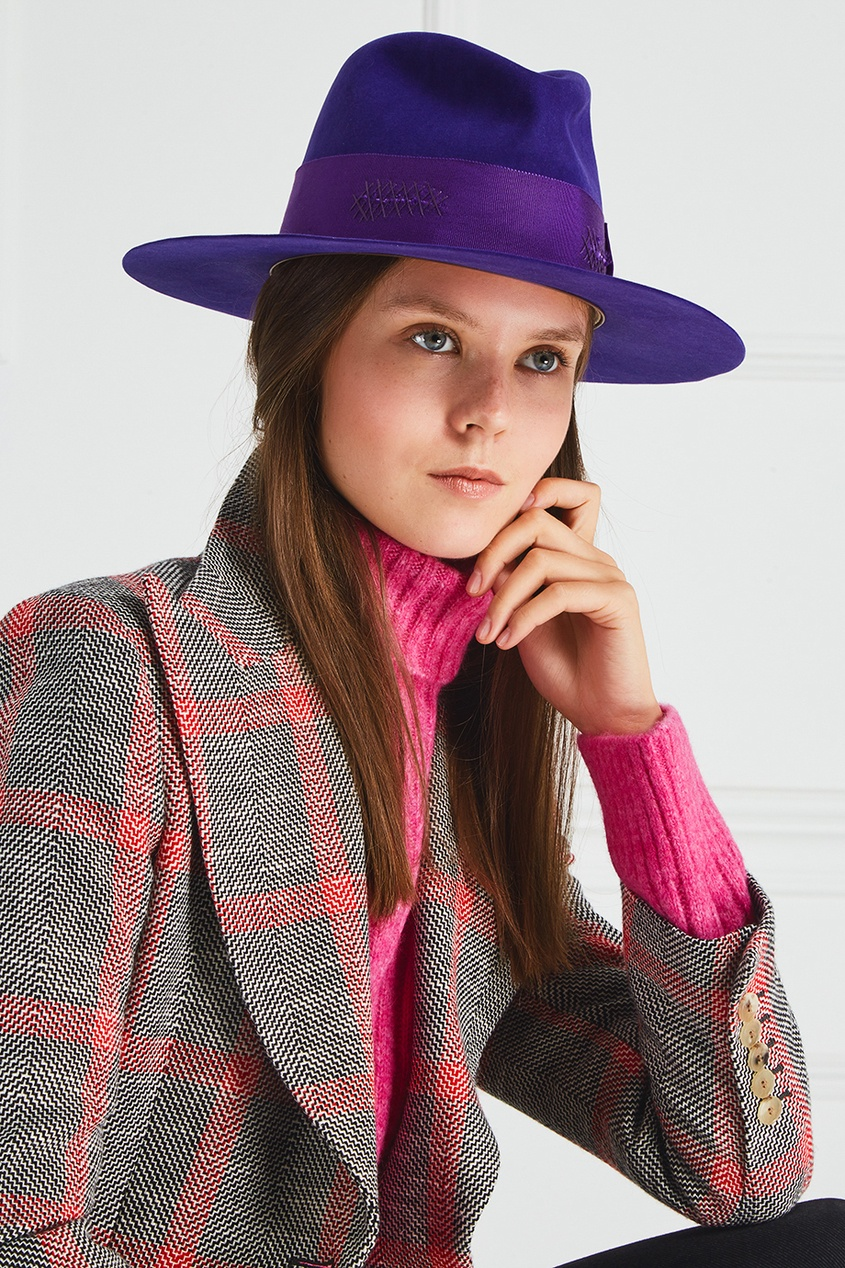 Nick Fouquet Фетровая шляпа nick tasler domino