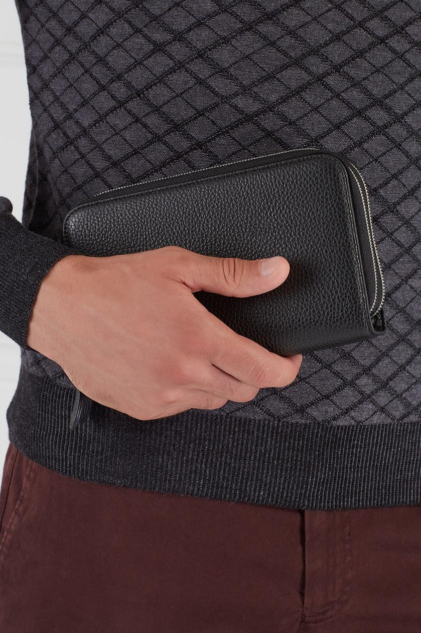 Canali Кожаное портмоне портмоне мужское кожаное naijie nj605