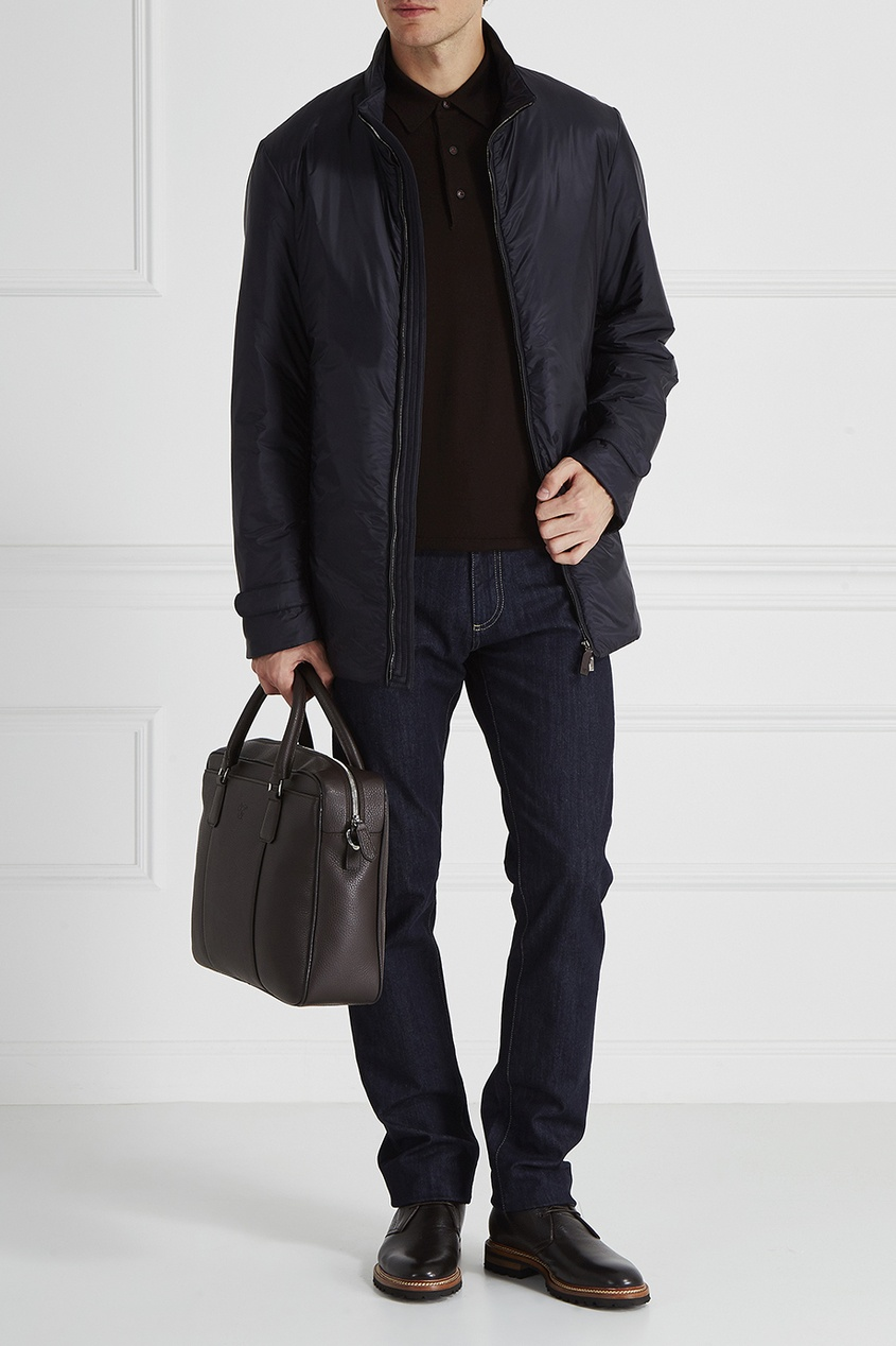 Canali Однотонная куртка