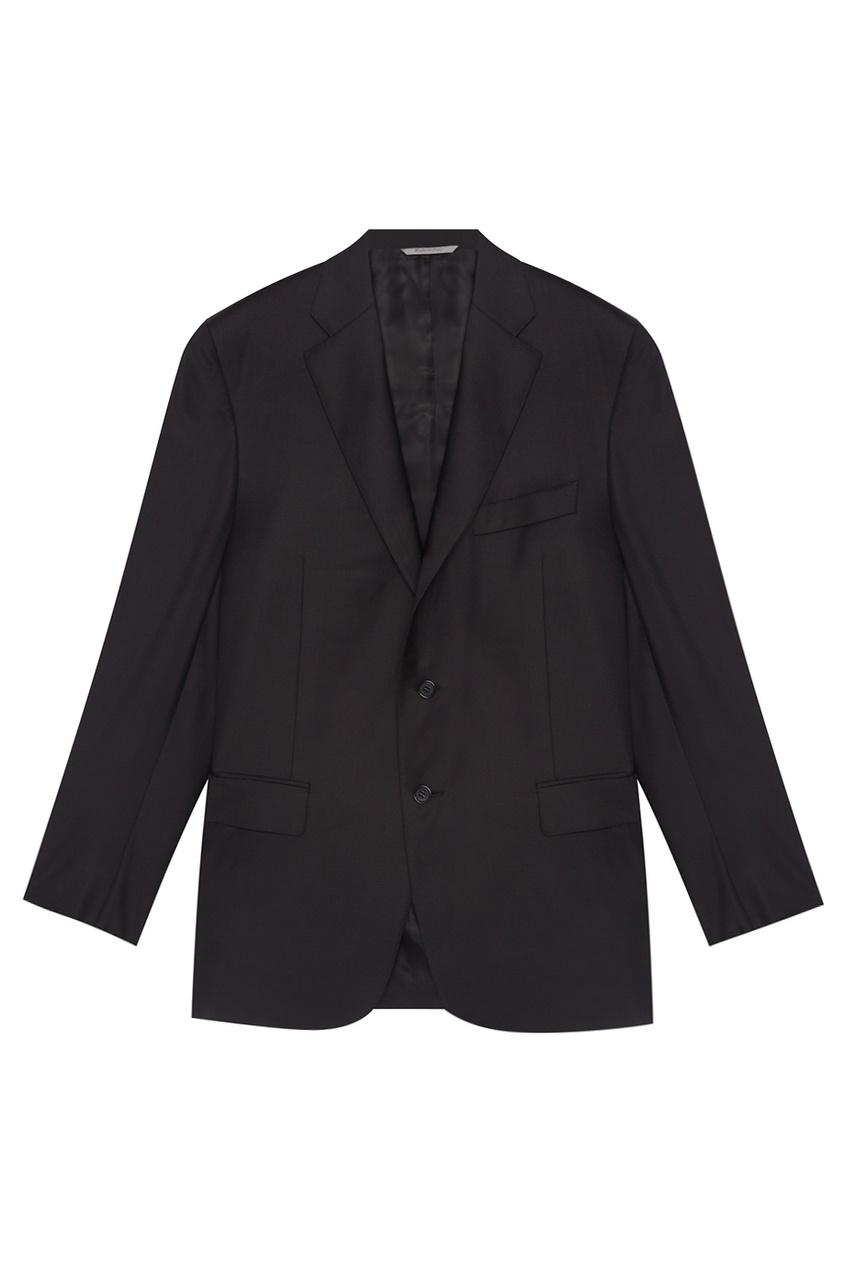 Однотонный костюм Canali