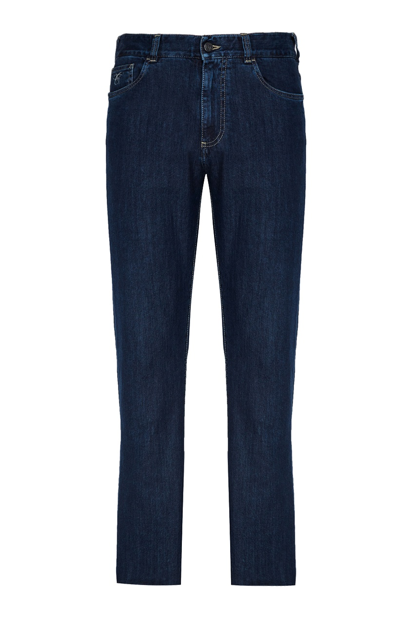 Canali Комбинированные джинсы