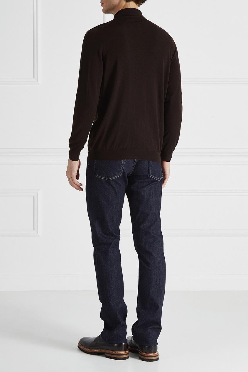 Canali Комбинированные джинсы брюки tom tailor denim 6403342 09 12 6889