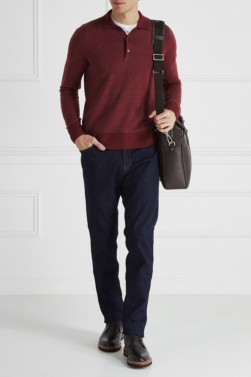 Canali Шерстяной пуловер брюки tom tailor denim 6403342 09 12 6889