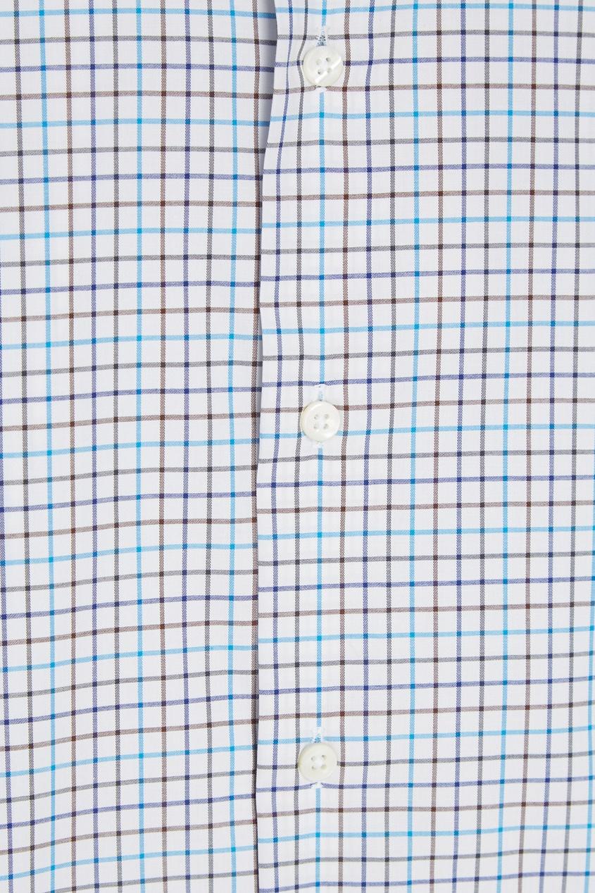 Canali Рубашка в клетку рубашка в клетку из денима gamix3