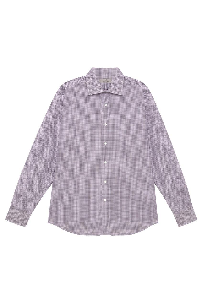 Canali Рубашка в клетку рубашка в клетку dc atura 3 atura black page 2