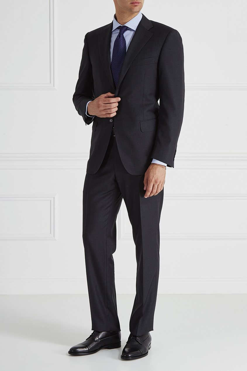Canali Рубашка в полоску брюки tom tailor denim 6403342 09 12 6889