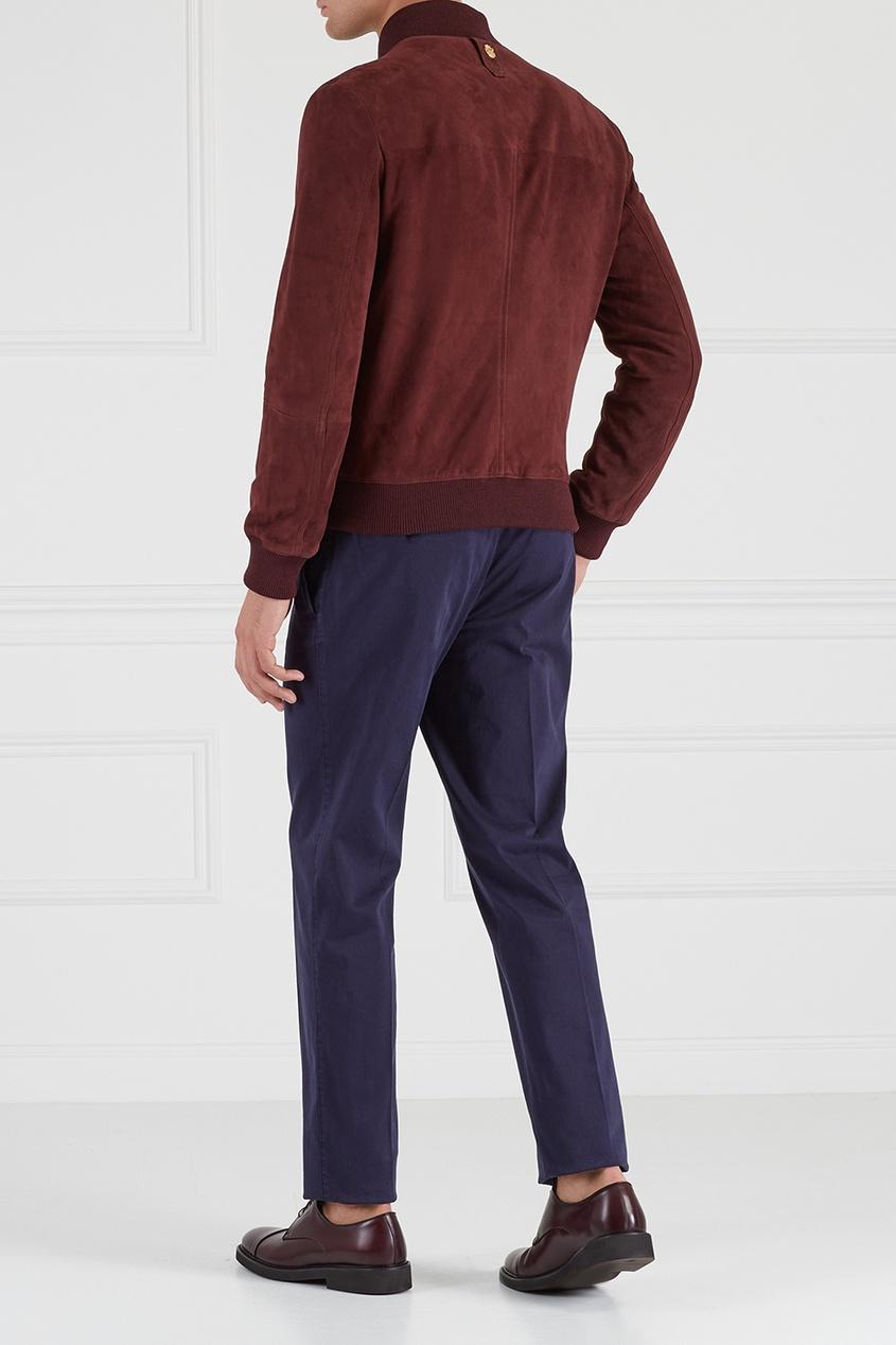 Комбинированные брюки