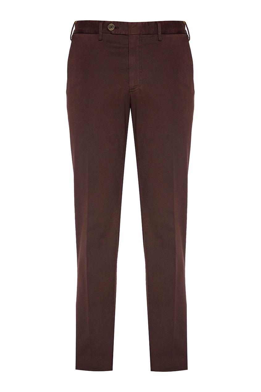 Canali Комбинированные брюки брюки conquista брюки зауженные