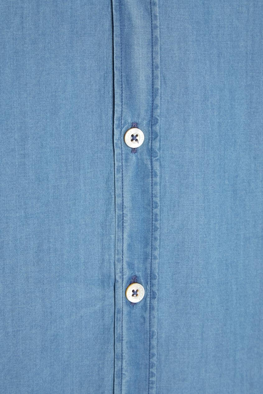 Canali Джинсовая рубашка цена 2016