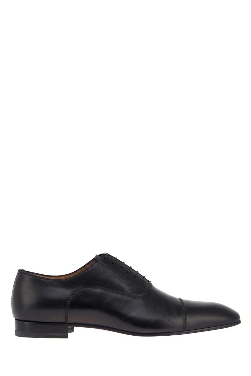 Christian Louboutin Кожаные оксфорды Greggo Flat ботинки оксфорды кожаные prangley walk