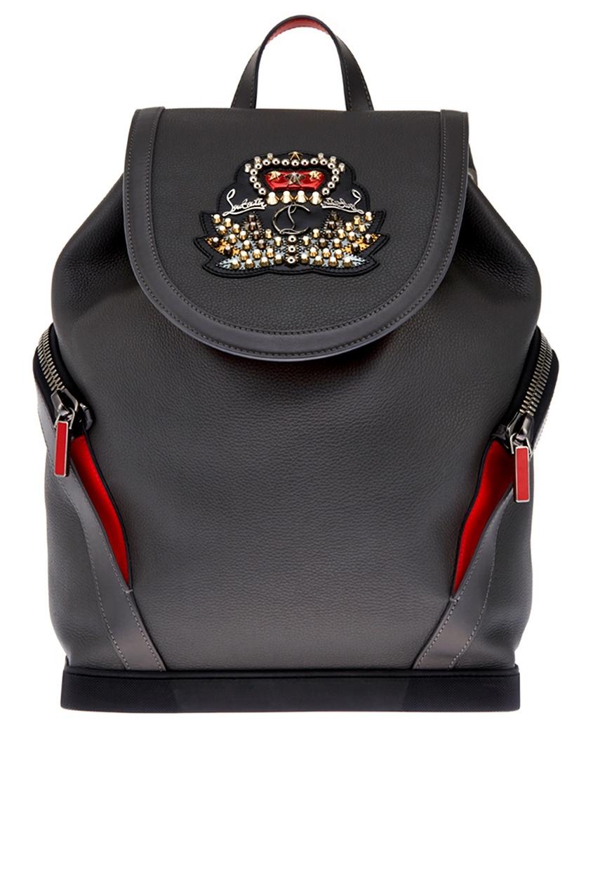 Christian Louboutin Кожаный рюкзак Explorafunk кожаный рюкзак