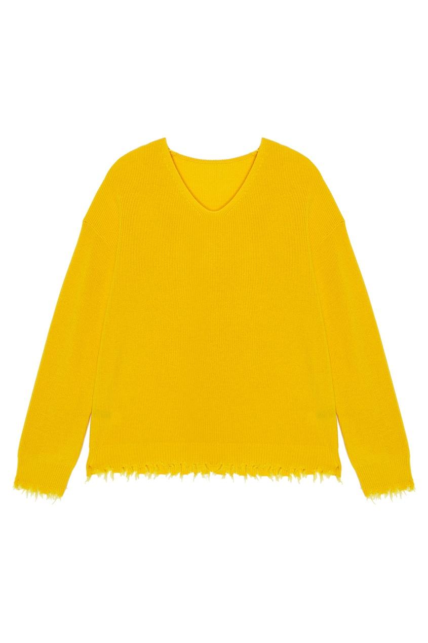 Шерстяной пуловер