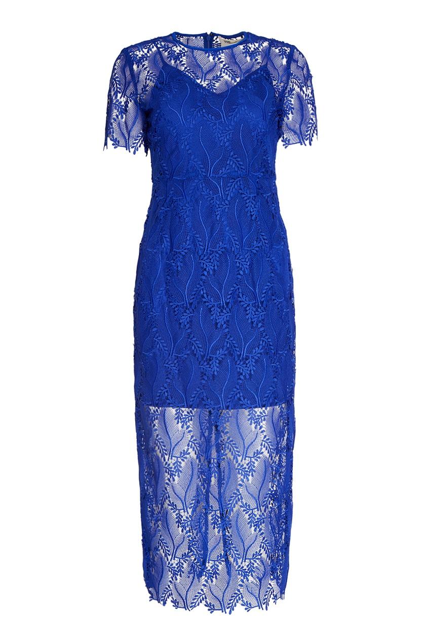Diane von Furstenberg Кружевное платье кружевное платье миди 40 44