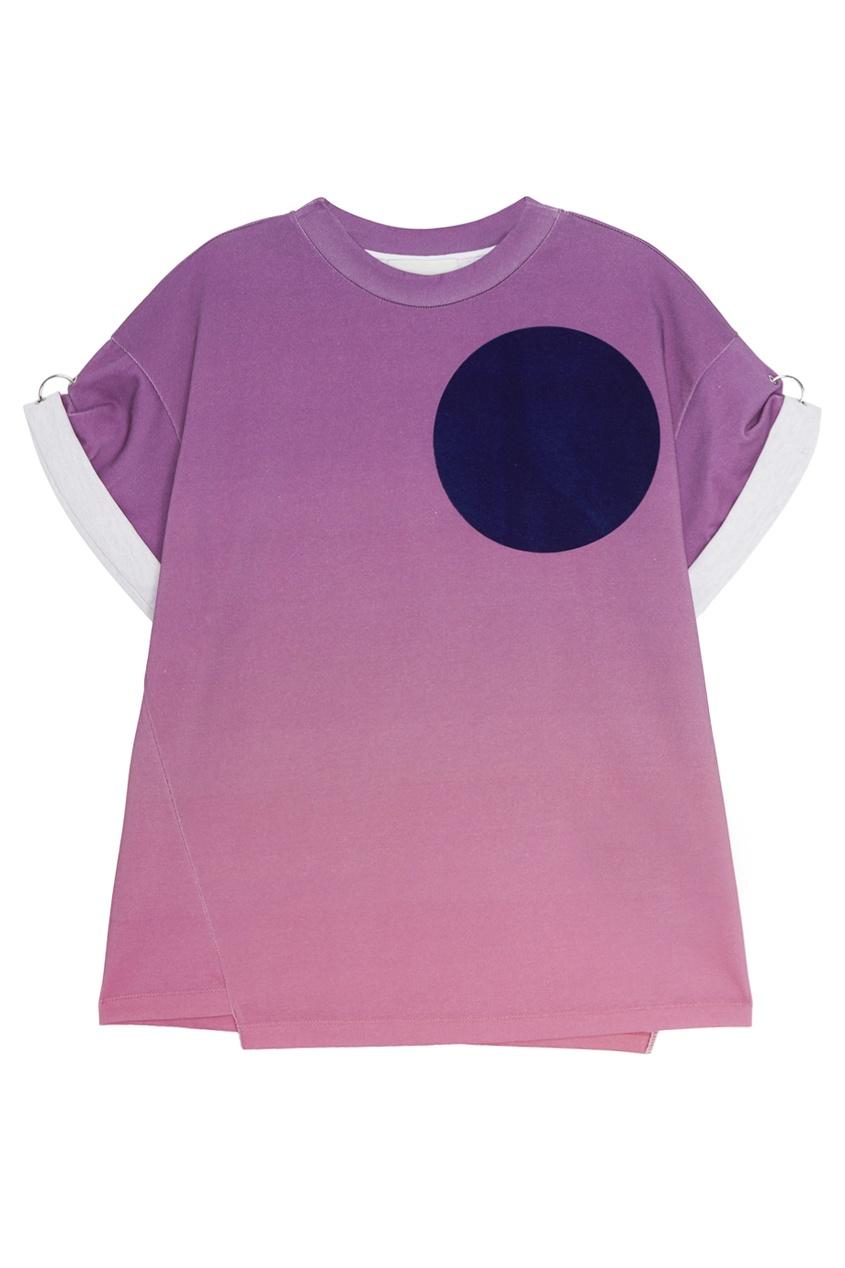 цена 3.1 Phillip Lim Хлопковая футболка онлайн в 2017 году