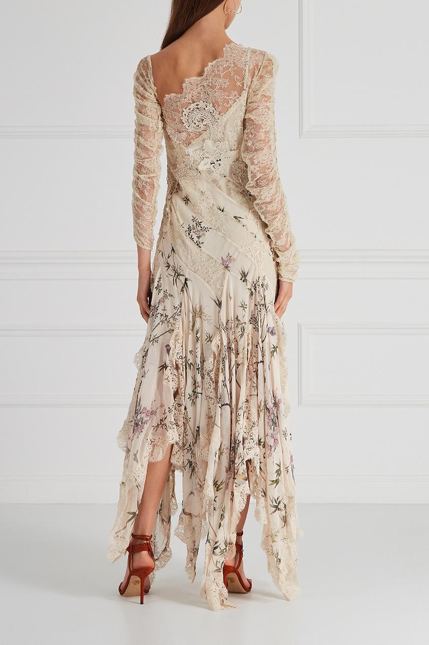 ZIMMERMANN Шелковое платье